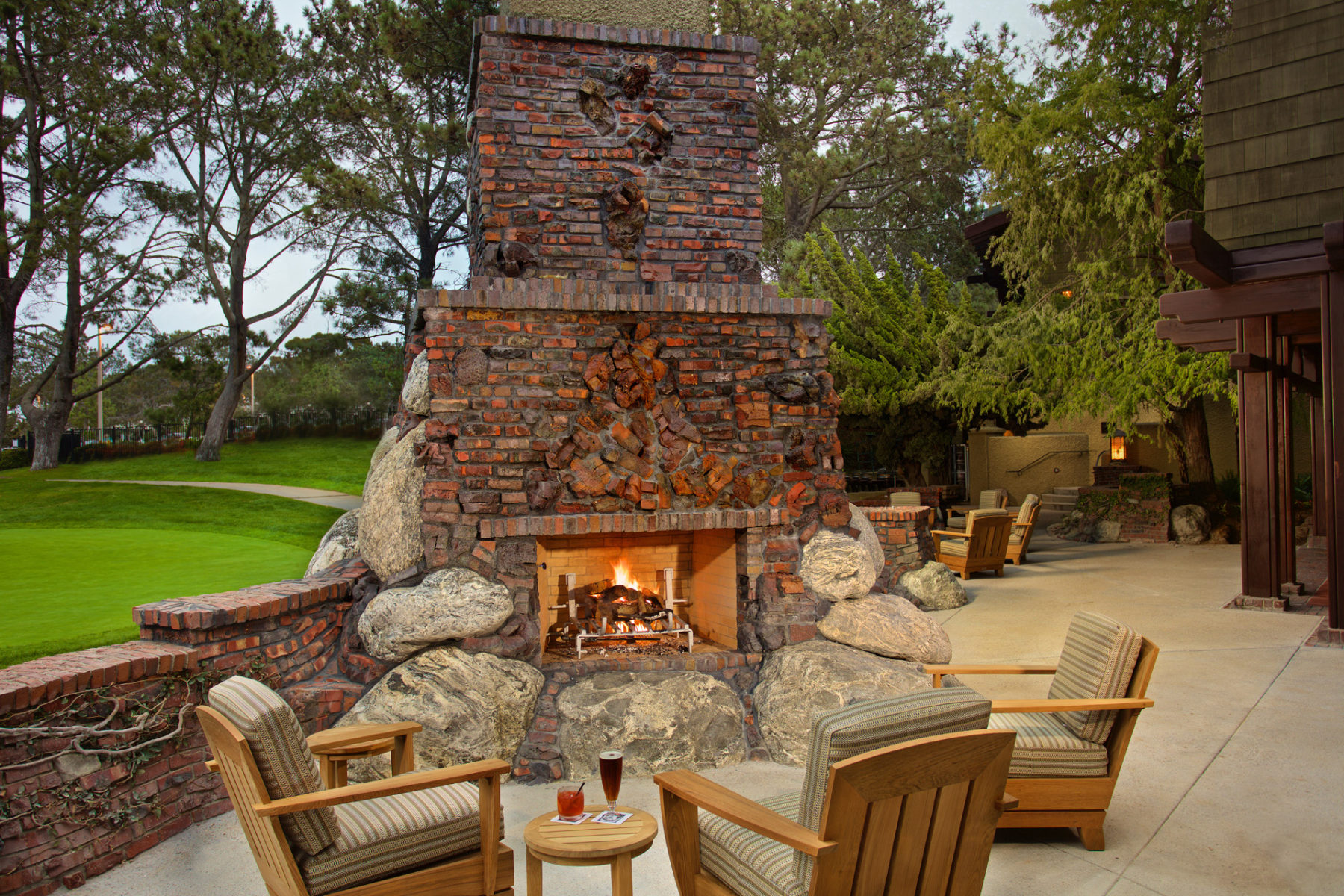 the grille at the lodge at torrey pines dempsey construction