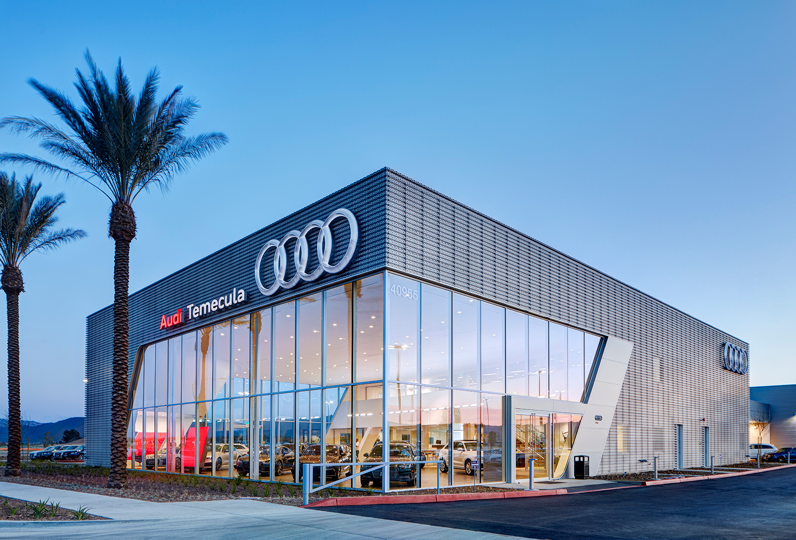 Hoehn Audi Temecula Dempsey Construction